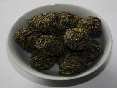 Jiaogulan thee bolletjes